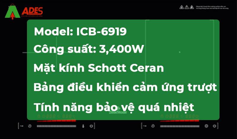 thong so ky thuat Bluestone ICB-6919