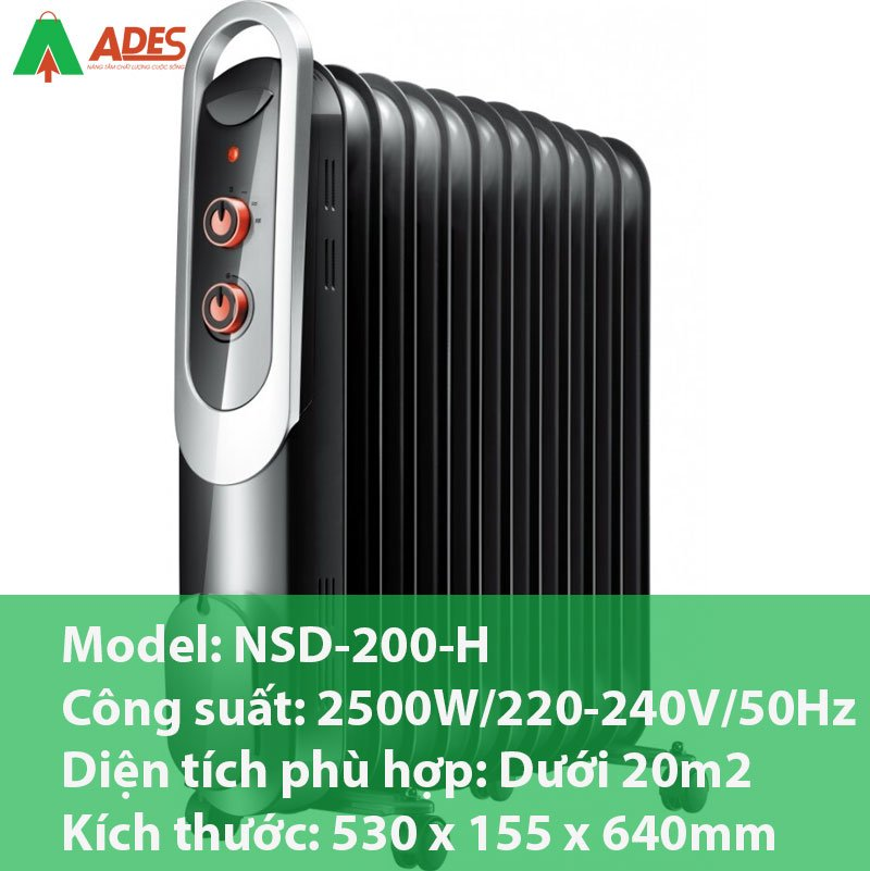 Thong so ky thuat cua may suoi dau Daiwa NSD-200-H